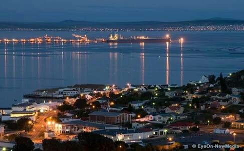 Saldanha Bay is a natural harbour on the south-western coast of South Africa, about 105 kilometres north west of Cape Town.
