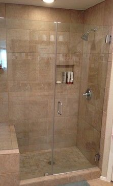 60 bathtub to stand up shower conversion contemporary spaces austin one call property. Black Bedroom Furniture Sets. Home Design Ideas