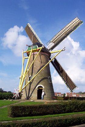 Flour mill Weltevreden, Domburg, the Netherlands