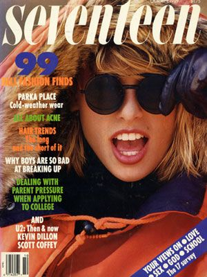 Check out Niki Taylor's major shades from the October 1989 Seventeen cover!
