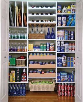 Pantry by Easy Closets is the best.  I had them in my condo & wish I had them in COMO; no source nearby :(