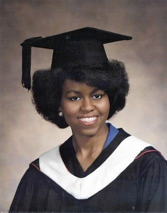 Michelle Obama Young | Michelle Obama Princeton Graduation Picture In Harvard essay, young ...