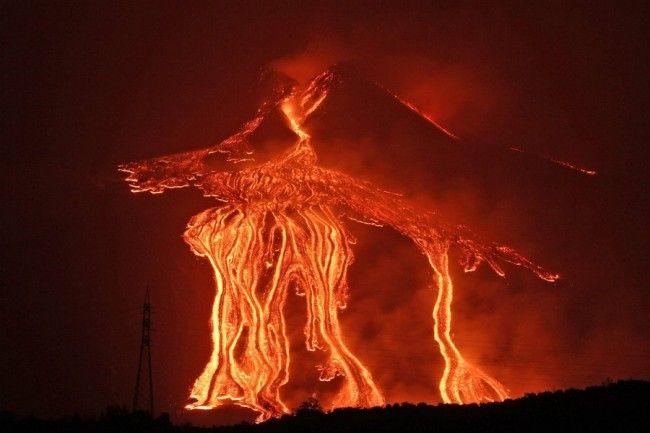 Etna volcano, Sicily, Italy.
