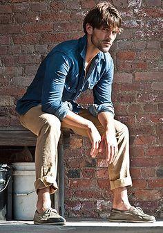 デニムシャツの着こなし・コーディネート | メンズ Italy Web                                                                                                                                                                                 もっと見る