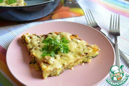 Картофельный пирог на сковороде - кулинарный рецепт