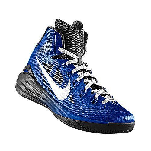 I designed the blue Duke Blue Devils Nike men\u0027s basketball shoe.