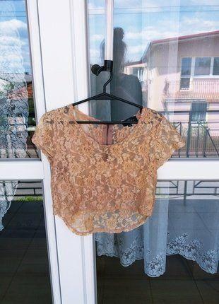 Kup mój przedmiot na #vintedpl http://www.vinted.pl/damska-odziez/koszulki-z-krotkim-rekawem-t-shirty/18290015-crop-top-koronkowy-rozmiar-xs-idealny-na-lato-mgielka