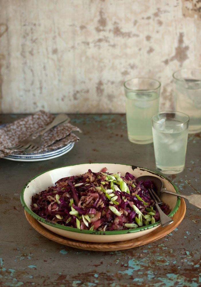 braised cabbage salad