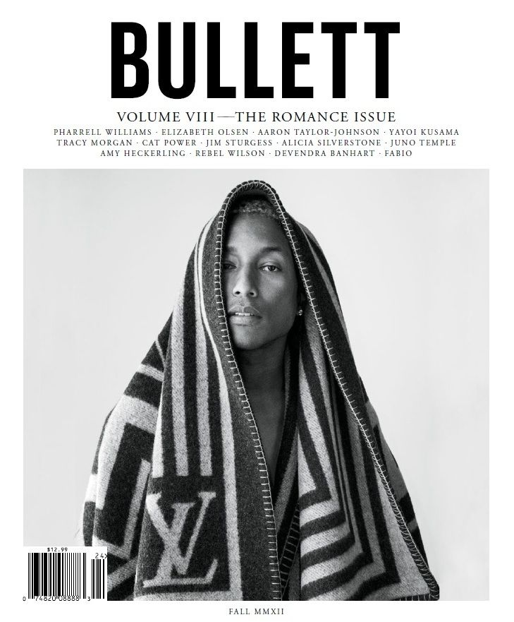 via Cafe' Pour Deux: Pharel Williams, Magazines Coversspread, Tim Barbers, Bullett Magazines, Bullets Magazines, People, Pharrell Williams, Barbers Photography, Graphics Art Design
