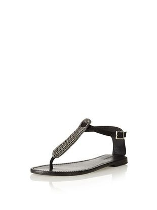61% OFF Charles David Women's Chandra Sandal (Black)