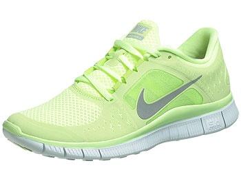 LIME Nike FREE Run +3
