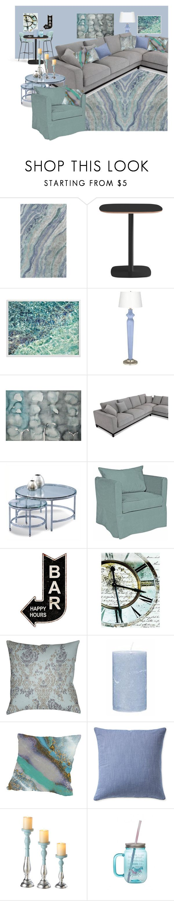 """""""Pastels and grey"""" by ningaunis ❤ liked on Polyvore featuring interior, interiors, interior design, home, home decor, interior decorating, Normann Copenhagen, Basset Mirror Company, Howard Elliott and Décor 140"""