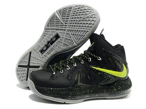 Nike LeBron 10 PS Elite Black Volt