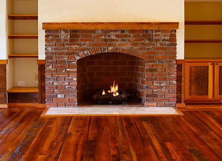 Las 25 mejores ideas sobre chimeneas de ladrillo en - Construccion de chimeneas de ladrillo ...