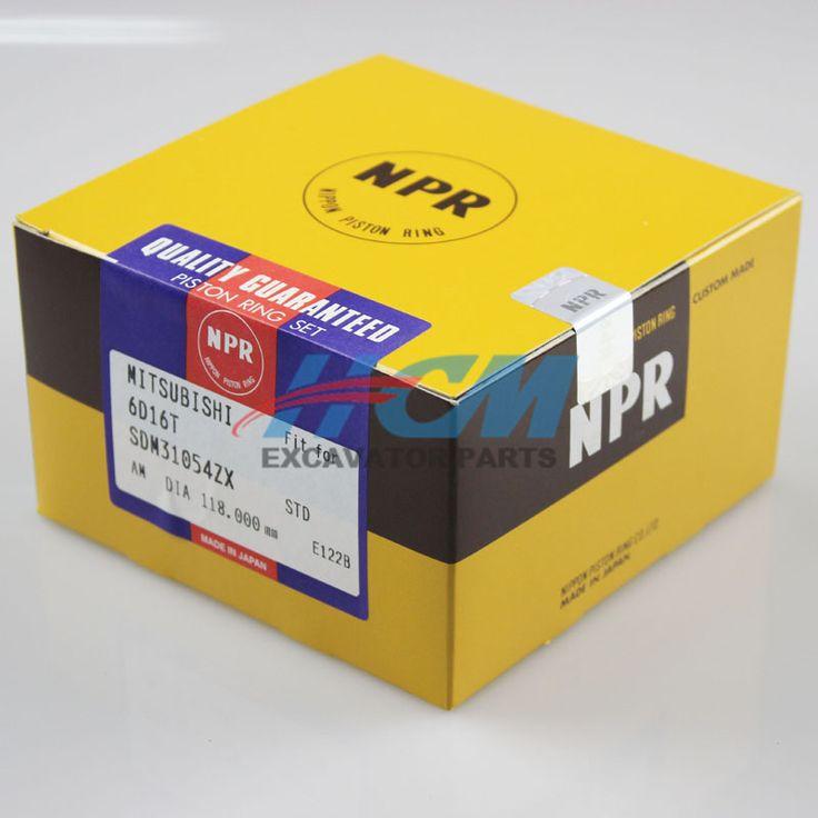 Engine: 6D16T  Part Name: Piston Ring  Part No.: SDM31054ZX