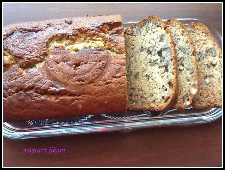 450. banana walnut bread (with eggs)