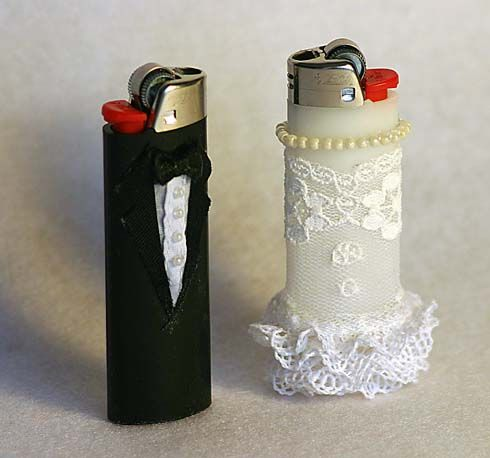 Wedding Lighters - For moms to light the tapers for the unity candles.