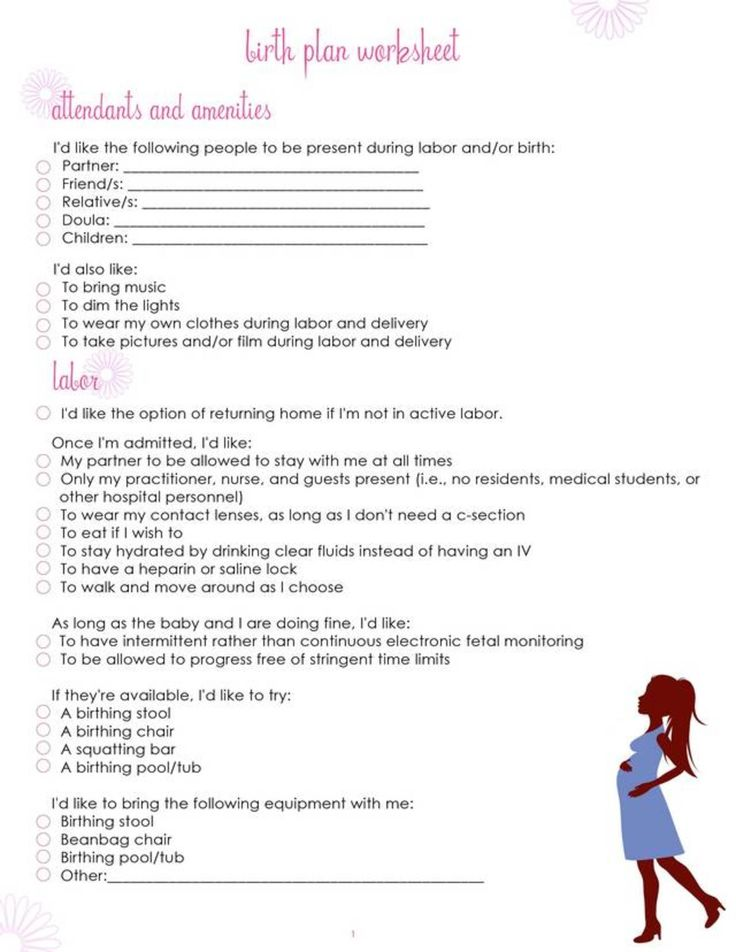 17 Best ideas about Birth Plan Printable on Pinterest | Pregnancy ...