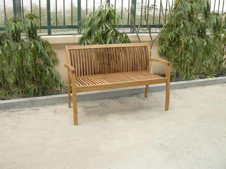 Outdoor Wood Furniture Robinia - BENCH 2 BERG P - eur 145,00 (VAT included)