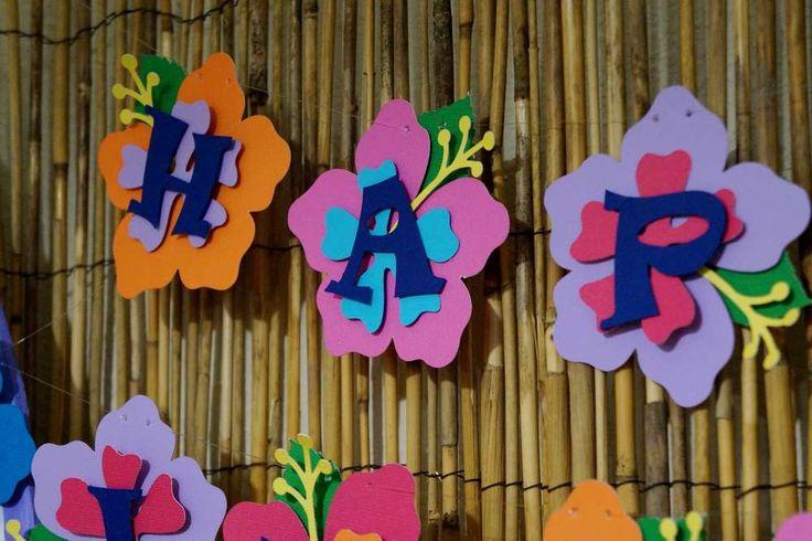 Lilo & Stitch Luau Birthday Party Ideas   Photo 1 of 56