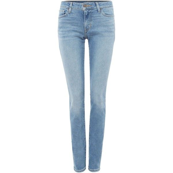 Levi's 711 Skinny Jean in Miles To Go (6.390 RUB) ❤ liked on Polyvore. Light  Wash Skinny JeansBlue ... - The 25+ Best Light Wash Skinny Jeans Ideas On Pinterest Light