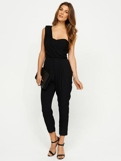 Serena One Shoulder Jumpsuit... I think Inneed this in my life