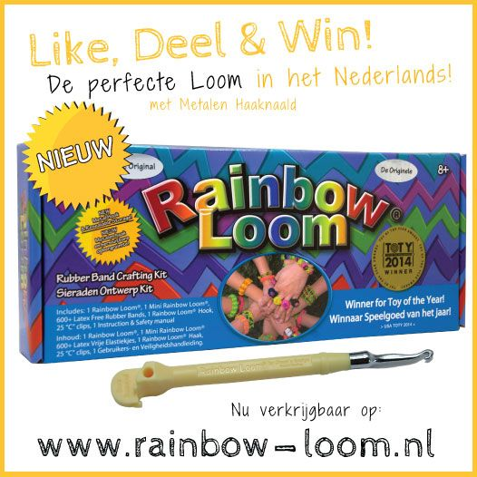 Grootste Rainbow-Loom Win-Actie ooit! - Rainbowloomkopen.be