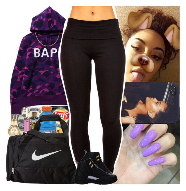 """""""Untitled #665"""" by msixo ❤ liked on Polyvore featuring Michael Kors and NIKE"""