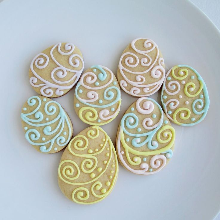 Easter eggs cookies | Cookie Connection