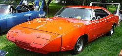1969 Dodge Daytona, again, with a 426 Hemi - one of only 503 ever made