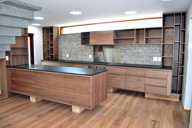 Cteae Com Images Fd 3 Natural Walnut Kitchen Cabinets Design Ideas 9 Jpg Walnut Kitchen Cabinets Modern Kitchen Walnut Kitchen