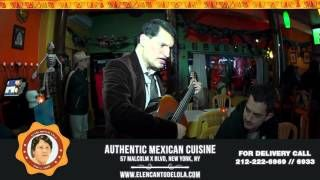 El Mariachi - Interpretada por el cantante Mexicano mas versatil de Nueva York Nando, aqui en el encanto de lola, Ven a celebrar con familia y amigos de su musica de jueves a domingo de 7 pm a 11 pm #food #foodporn #yum #instafood #yummy  #elencantodelola  #music #dinner #lunch #breakfast #fresh #tasty #foodie #delish #delicious #eating #foodpic #livemusic #eat #hungry #foodgasm #livemusic  #mexicanfood 