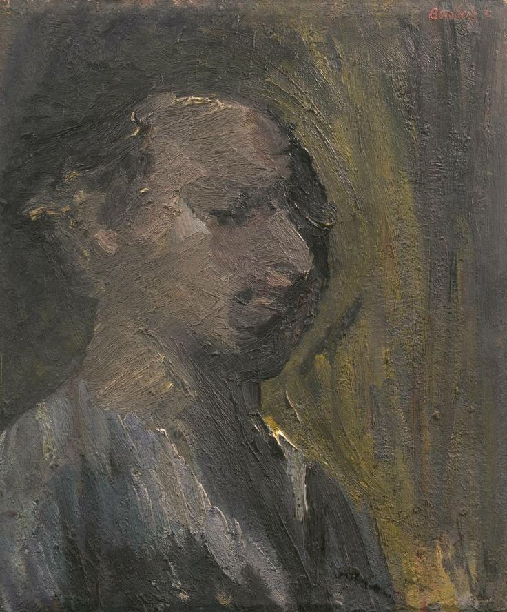 Artist David Bomberg (1890‑1957) Title Self-Portrait Date 1932 Medium Oil paint on canvas