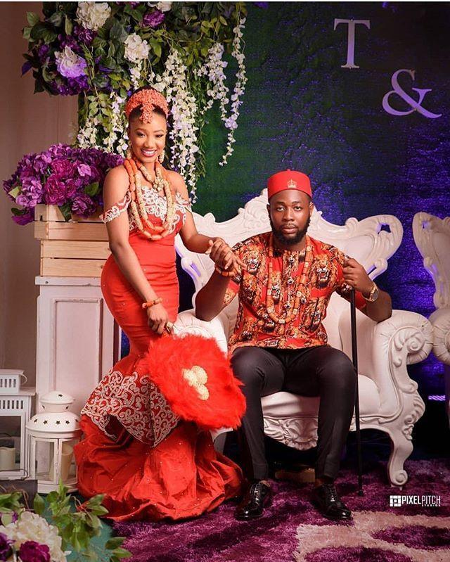 Igbo Nigerian Wedding: #tfbride Treasure ️ #edobride #nigerianwedding