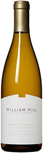 nice 2011 William Hill Estate Unfiltered Chardonnay Amazon Exclusive White Wine 750mL