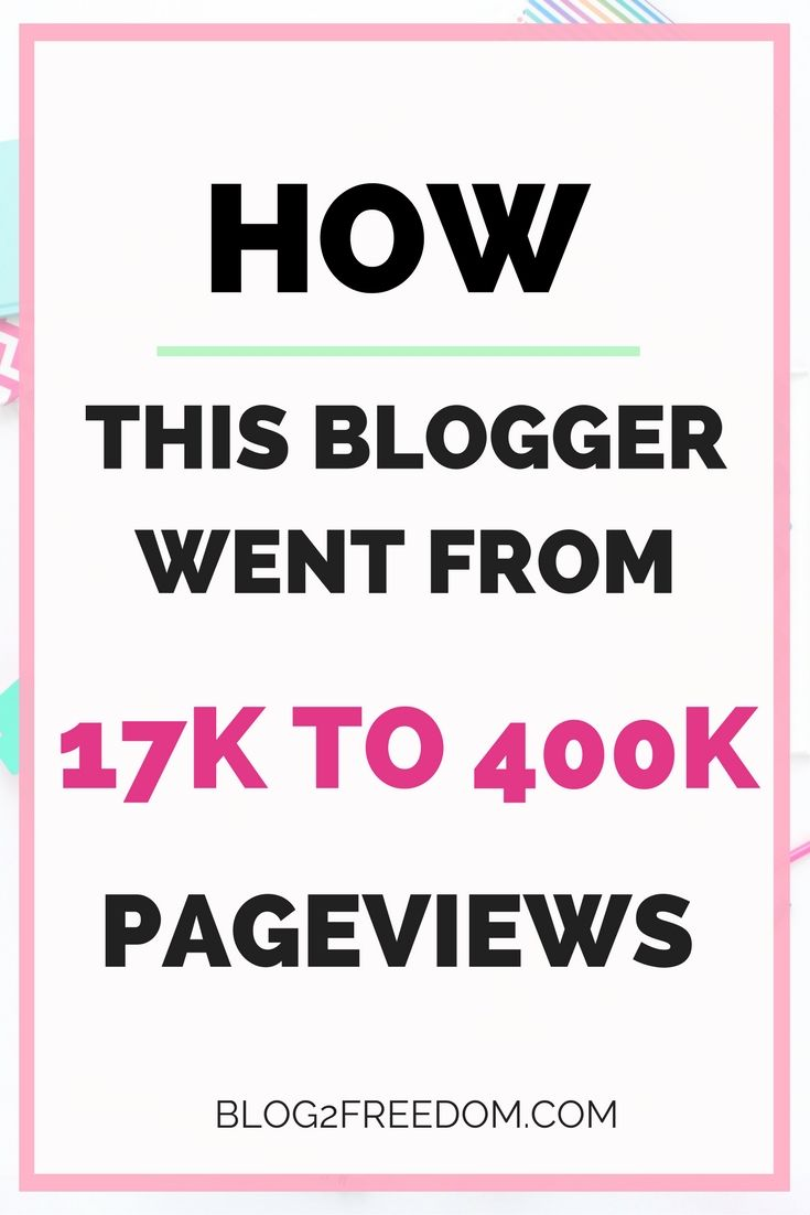 This was one of the first E-books I ever purchased to help me explode my traffic! She just released an updated version that's even better! Who doesn't want 400k Pageviews? affiliate