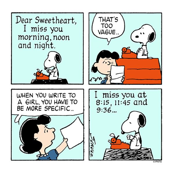 Love Letters by Snoopy