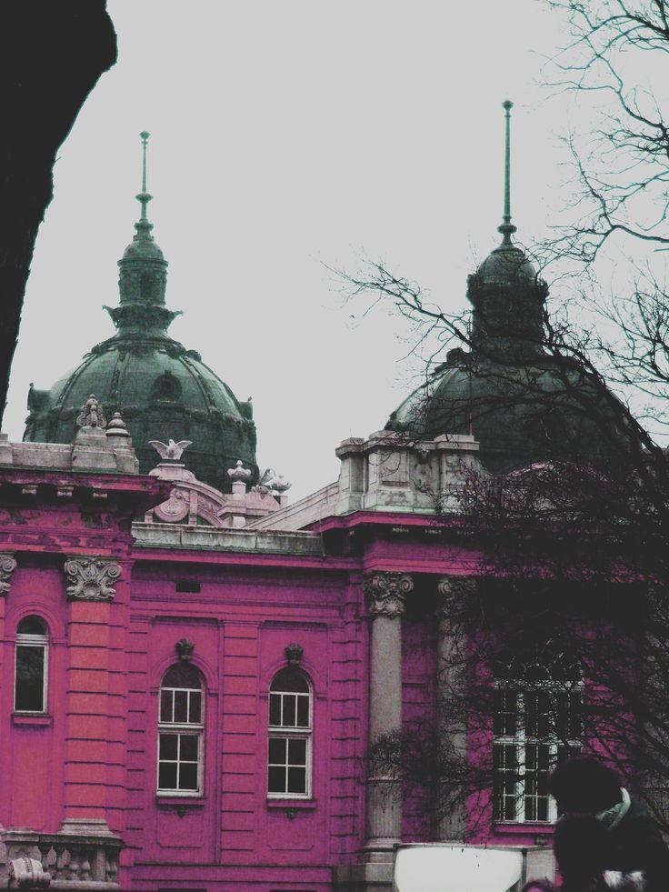 Széchenyi fürdő, rózsaszínen ;)