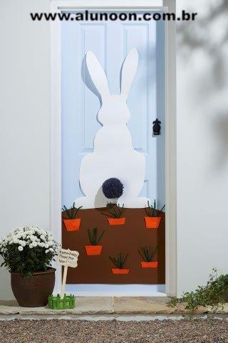 40 ideias de decoração de portas para Páscoa - Educação Infantil - Aluno On