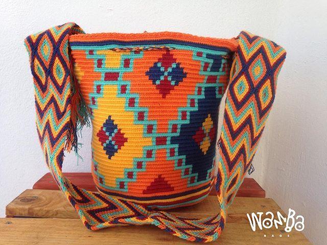 • 🍊🍋🍊 • #wambabags #handmade #colombian #womensbag #boho #fashion #moda #chic #womensfashion #wayuulovers #wayuubag #colors #unique #trendy #bag #style #bolsas #tejido #colombia #musthave #hechoamano #artesania #tejidoartesanal #playadelcarmen