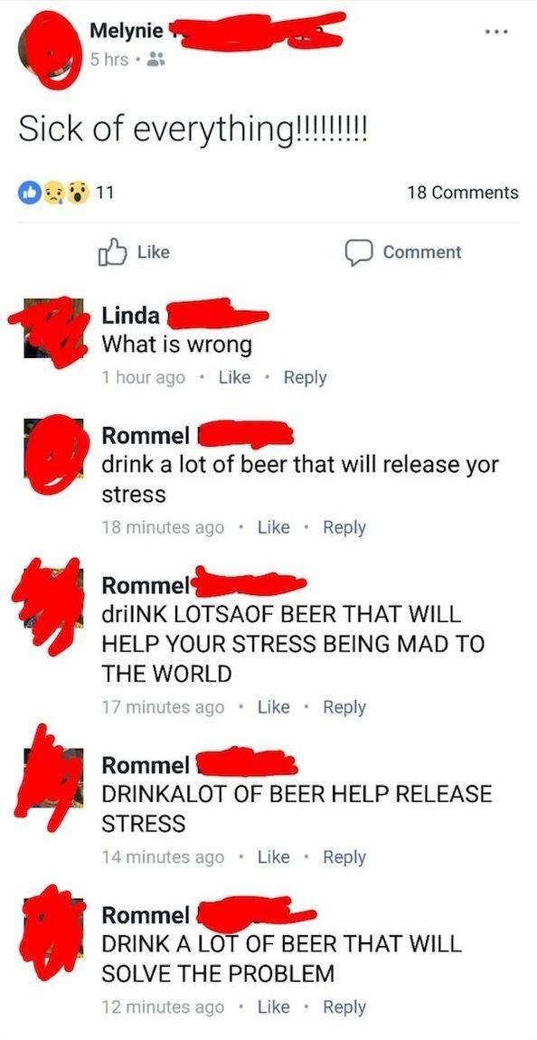 Crazy Funny Facebook Messages