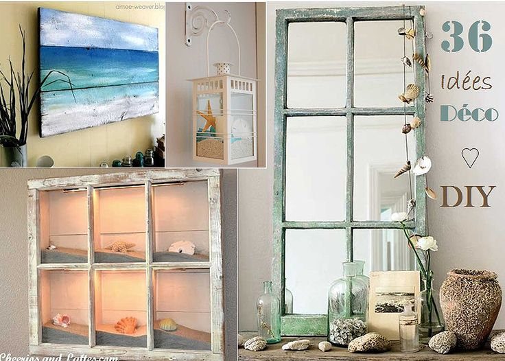 1000 images about sea glass and beachy ideas on pinterest - Meubles blancs style bord de mer ...