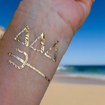 Sorority Tattoos, Sorority Gifts, Tri Delta Sorority Gifts, Gold Jewelry Tattoos…