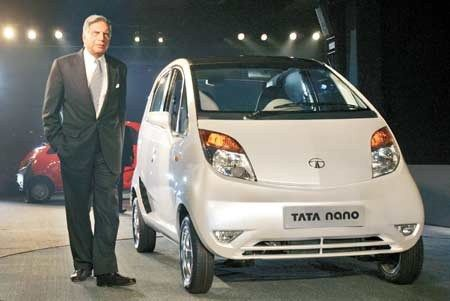 TODAY IN HISTORY -  On this day in 2008, at the New Delhi Auto Expo in India, Tata Motors debuts the Nano, billing it as the world's cheapest car.