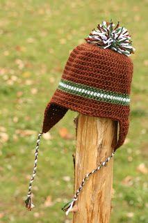 Crochet toddler's hat: free pattern