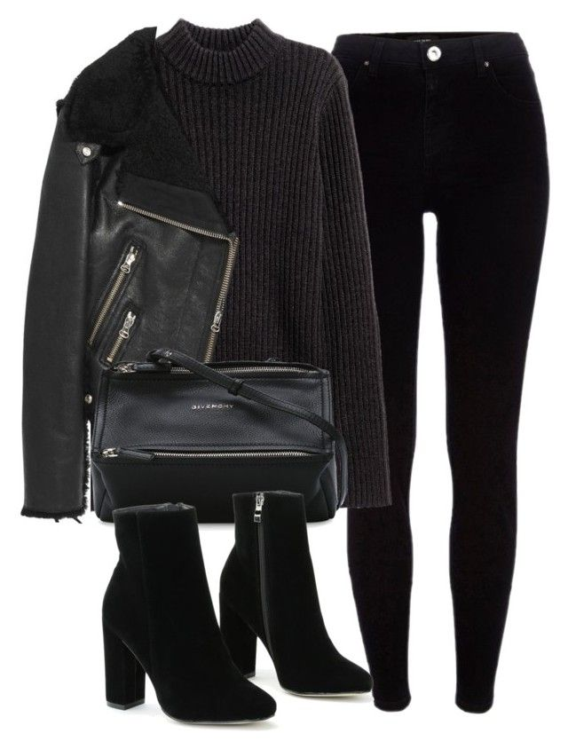 """Untitled #6165"" by laurenmboot ❤ liked on Polyvore featuring River Island, Acne Studios and Givenchy"
