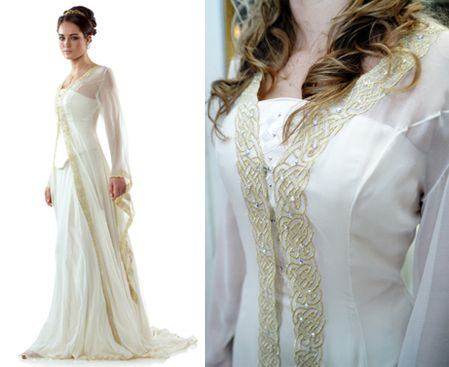 Celtic - no I'm not looking for a wedding dress but I absolutely love this design