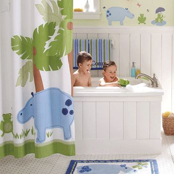 Great idea for the kids bathroom, but I think they would destroy the white. Maybe if it was a nice wood color.