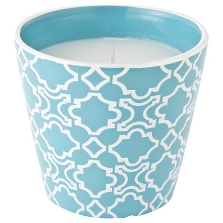 Cera Citronella Candlepot 10cm Aqua $12 Freedom