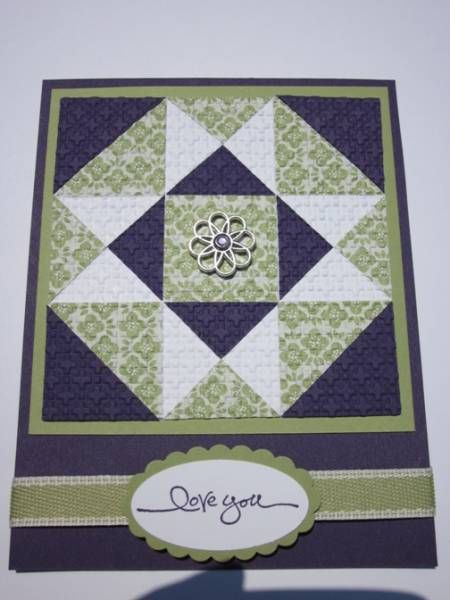 15 best Cards-Patchwork images on Pinterest | Patchwork cards ... : quilted cards - Adamdwight.com
